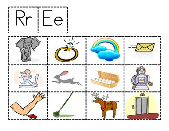 Rr and Ee sort