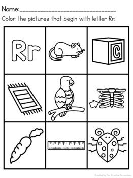 Letter R { Alphabet Practice }