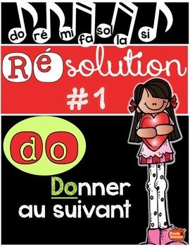 Résolution #1: Donner au suivant