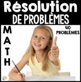 Résolutions de problèmes (Mathématiques - 1re et 2e années)
