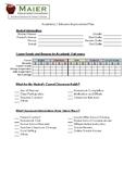 RtI Academic / Behavior Action Plan