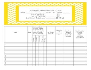 RtI Binder Bundle for Organization and Documentation K - 5
