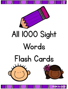 RtI: Flash Card Bundle