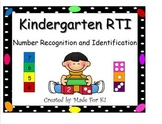 RtI Kindergarten Math Bundle Number Recognition & Counting and Cardinality