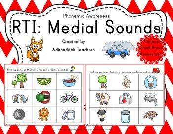 RtI: Medial Sounds Phonemic Awareness