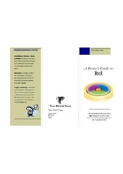 RtI: Parent Information Brochure