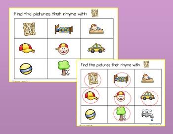 RtI Phonemic Awareness: Rhyming