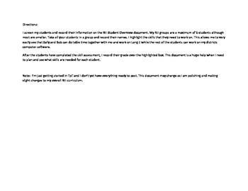 RtI Phonics Group Planning Guide