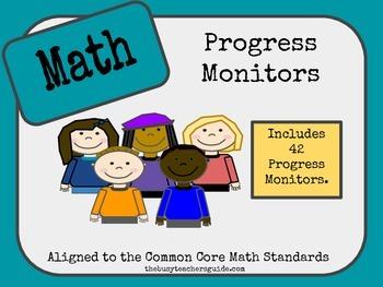 Progress Monitors for MATH