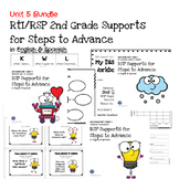 RtI/RSP 2nd Grade Supports for Steps to Advance Unit 5 Bundle