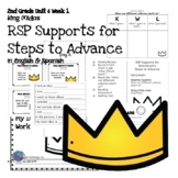 RtI/RSP 2nd Grade Supports for Steps to Advance Unit 6 Week 1