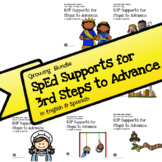 RtI/RSP 3rd Grade Supports for Steps to Advance All Year Bundle