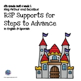 RtI/RSP 6th Grade Supports for Steps to Advance Unit 6 Week 1