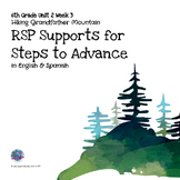 RtI/RSP Supports for 6th Grade Steps to Advance Unit 2 Week 3
