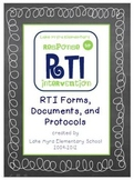 RtI: Response to Intervention - LMES RtI Documents