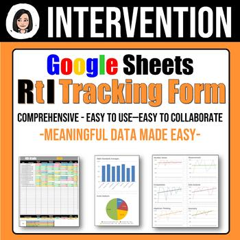 RtI Tracking Form: Meaningful Data Made Easy - DISTRICT License