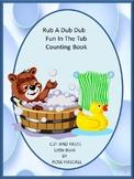 Little Book Counting Rub A Dud Dub Special Education Math Pre-K K Math Centers