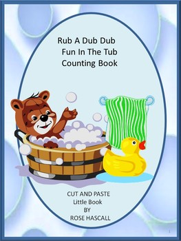 Rub A Dud Dub, Fun In The Tub,  Counting Book PK, K, Speci