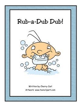 Rub-a-Dub Dub! Read Aloud Big Book (-ub Word Family)