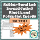 Kinetic and Potential Energy Hands On Lab Activity MS-PS3-
