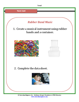 Rubber Band Music Science Center