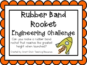 Rubber Band Rocket: Engineering Challenge Project ~ Great STEM Activity!
