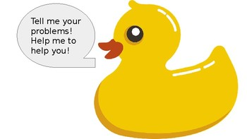 Rubber Duck Debugging Poster