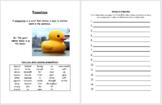 Rubber Duck Prepositions