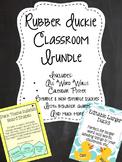 Rubber Duckie Theme Classroom Bundle