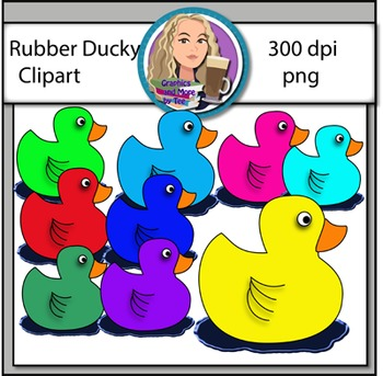 Rubber Duckies Clipart