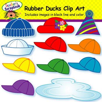 Rubber Ducks Clip Art