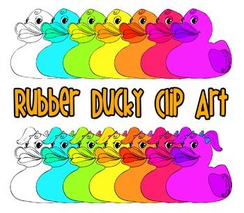 Rubber Ducky Clip Art