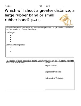 Rubber band challenge part II
