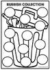Rubbish Collection Alphabet Game AUS FONT