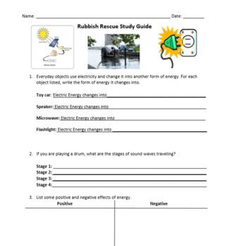 Rubbish Rescue Review Guide