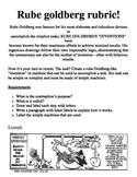 Rube Goldberg Cartoon Design Rubric