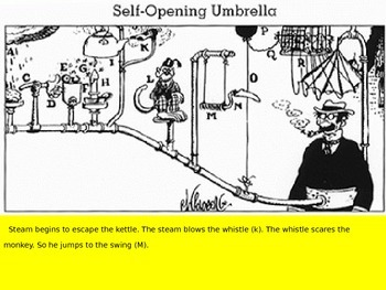 Using Rube Goldberg's Machine to Learn About Cause and Effect