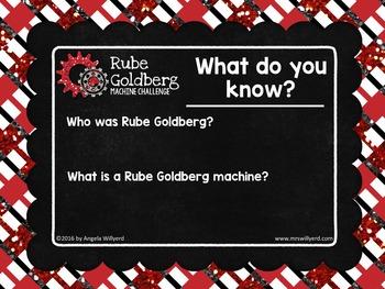 Energy Transformation: Rube Goldberg Machine Challenge 5-Day PBL & STEM - PPT