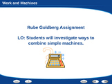 Rube Goldberg Machines Project Powerpoint Lesson