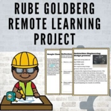 Rube Goldberg Remote Learning Project #DistanceLearningTPT
