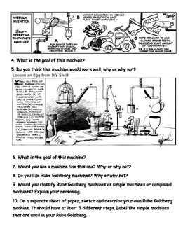Rube Goldberg - Simple and Compound Machines