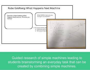"Rube Goldberg ""What Happens Next"" Challenge: Engineering Design, STEAM Inspired"