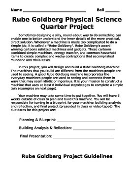 Rube Goldburg Project