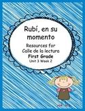 Rubi, en su momento- Calle de la lectura- Unit 3 week 2