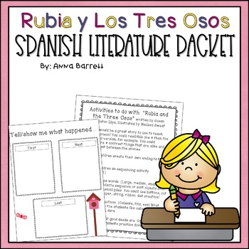 Rubia and the Three Osos Lesson