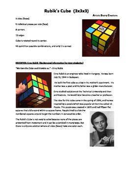 Rubik Cube: Brain Learning and Math