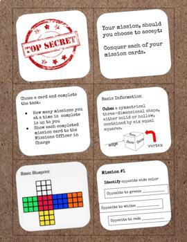 Rubik's Cube Top Secret Missions