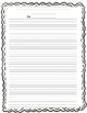 Rubric Added Final Draft Writing Paper Elementary Lined