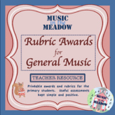 Rubric Awards for General Music