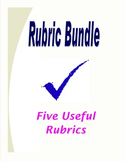 Rubric Bundle: Five Rubrics for MLA Writing, Presentations